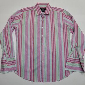 Charles Tyrwhitt Fitted Long Sleeve Multi Color